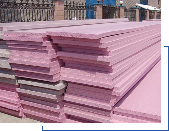 挤塑地暖板,腹膜地暖板,石家庄挤塑板